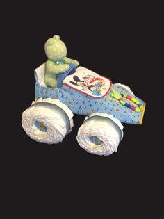 Diaper Race Car by LittleFrogLane on Etsy, $79.00