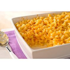 Velveeta Mac n Cheese 1 cup serving:  3 1/4 carb; 500 calories...recipes serves 8.