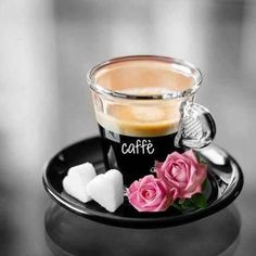 Home Brewed Cappuccino In 3 Easy Steps Coffee Heart, I Love Coffee, Black Coffee, My Coffee, Coffee Time, Coffee Cups, Coffee Break, Good Morning Coffee, Momento Cafe