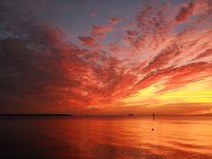 Bahia Beach sunset.  Photos by Beach Kowgirl