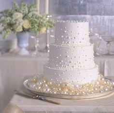 Decoração para casamento com pérolas - Para Casamento