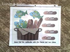 Free Loaves and Fishes printable activity