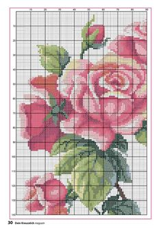 1 million+ Stunning Free Images to Use Anywhere Cross Stitch Rose, Cross Stitch Borders, Cross Stitch Flowers, Cross Stitch Designs, Cross Stitching, Cross Stitch Embroidery, Cross Stitch Patterns, Embroidery Flowers Pattern, Rico Design