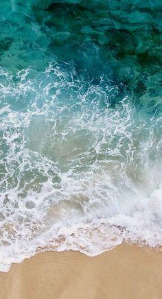 Iphone 7 wallpaper, iOS 10.3.3, beach