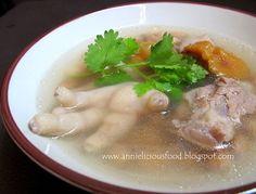 Chicken Feet Peanut Soup (花生鸡脚汤) | Annielicious Food