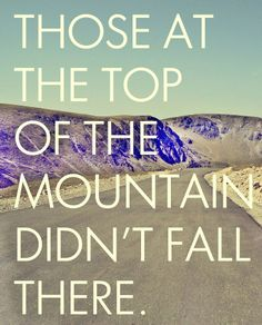 Those at the Top of the Mountain