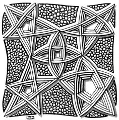 """https://flic.kr/p/cuEwvL   challenge_78   Weekly Challenge #78: """"New Official Tangle: Auraknot"""""""