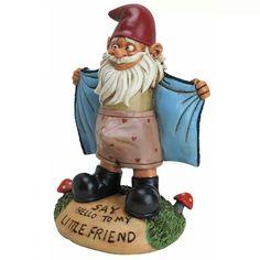 Badass garden gnome from rebelcircus