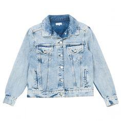 CLAUDIE PIERLOT Blue Cotton Jacket | Vestiaire Collective