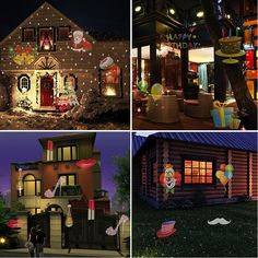 Halloween Outdoor Decorations, JQstar Projector Lights 12 Pattern Gobos Garden Lamp Lighting Waterproof Sparkling Landscape Projection Light for Christmas Holiday Party Wedding Decoration (Colorful) Christmas Landscape, Outdoor Halloween, Halloween Lighting, Projector Lamp, Garden Trees, Stage Lighting, Light Decorations, Outdoor Decorations, Wedding Decoration