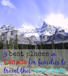 best places in Canad