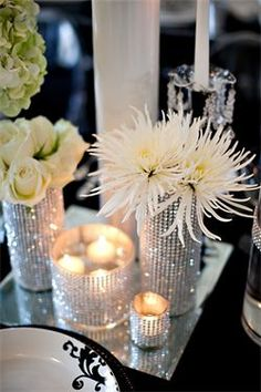 Just A Little Bling Nice For And Jeans Party 50th Birthday Centerpieces