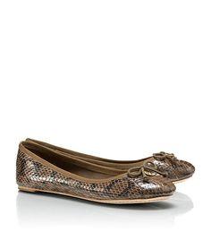 Snake Chelsea Ballet Flat