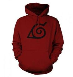 I found 'Something Geeky PP - Konoha Leaf Adult Hoodie - Inspired By Naruto' on Wish, check it out!