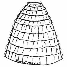 Amazon Drygoods - Flounced Petticoat, $10.50 (http://www.amazondrygoods.com/products/flounced-petticoat.html/)