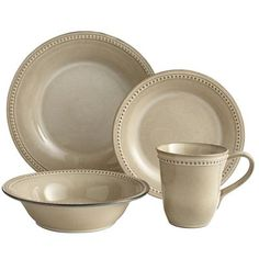 Pier 1 Imports - Spice Route Dinnerware - Sesame