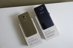 Samsung Unveils Galaxy Note 5 & S6 Edge In South Korea