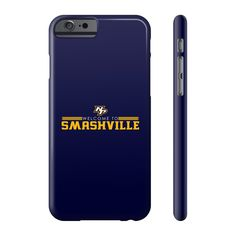 Welcome to Smashv... Now available!   http://roguepandaapparel.com/products/welcome-to-smashville-phone-case?utm_campaign=social_autopilot&utm_source=pin&utm_medium=pin