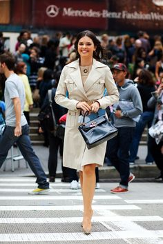On the Street….Tonal Trenching, NYC « The Sartorialist