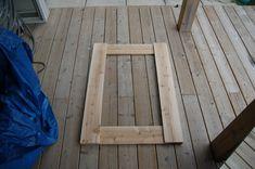 building a rustic mirror (4)
