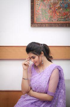 Latest Clicks of AthulyaRavi - Daily News and analysis South Indian Wedding Hairstyles, Saree Hairstyles, Wedding Saree Collection, Modern Saree, Saree Trends, Tamil Actress Photos, Saree Look, Saree Styles, Beautiful Saree