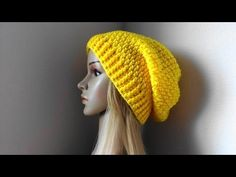 How To Crochet A Hat, Lilu's Handmade Corner Video # 100 - YouTube