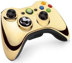 Official Xbox 360 Wireless Controller Limited Edition Chorme Gold *New & Sealed* | eBay
