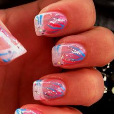 New nail design by solar nails and spa in lima new nail for 3d nail salon cypress tx