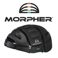 Morpher folding helmet. I contributed to the crowd-funding campaign.