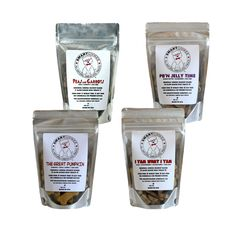 SMARTCOOKEE™ - Sampler Set | 100% All Natural Omega Dog Treats #fortailsonly | Stacie Marshman Handler FH100 | www.fb.com/paradisepetboutique