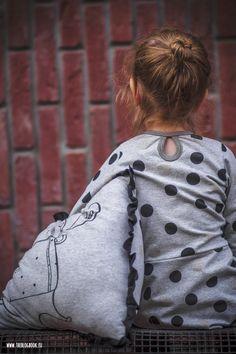 theblogbook   sewing   sweater dress with dots, kibadoo, lillestoff, kluntjebunt