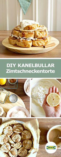 IKEA Deutschland | DIY KANELBULLAR Zimtschneckentorte