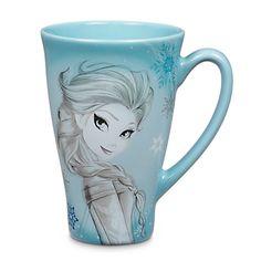 Frozen Elsa Sketch Mug, Disney Store site