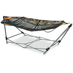 guide gear oversized portable folding hammock mossy oak breakup country  u003e u003e u003e find out more linon folding cot lion camouflage   you can find out more details      rh   pinterest