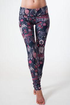 Jala Clothing Sup Yoga Legging in Classic Brocade