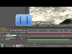 ▶ AE Basics 8: Timeline Basics 3 - Work-area & layer short-cuts - YouTube