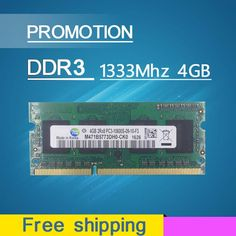 Sale ddr3 ram 4gb 1333mhz pc3-10600 so-dimm laptop, ddr3 memory 4gb 1333mhz pc3 10600 notebook, memoria ram ddr3 4gb 1333 mhz #jewelry, #women, #men, #hats, #watches, #belts, #fashion