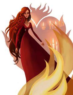 Melisandre - Game of Thrones - Leann Hill