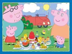 Peluche Peppa Pig, Jigsaw Puzzles For Kids, Puzzles For Toddlers, Rebecca Rabbit, George Pig, Fun Days Out, Fine Motor Skills, Gifts For Girls