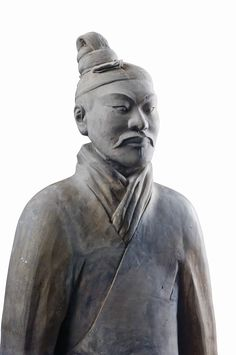 he Terracotta Army buried with the Emperor of Qin in 209-210 BC in Xian