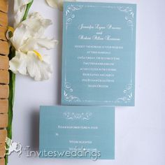 Carving Square Wedding Invitation IWI068