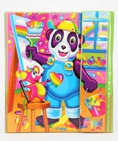 23 Reasons Why Lisa Frank Was A Genius... I always needed everything with the purple panda!