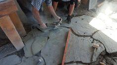 Instalación de piedra