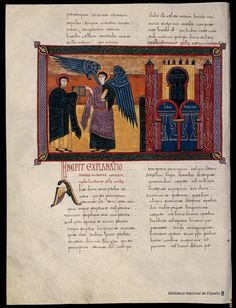 Beato de Liébana. Beato de Liébana , Santo — Manuscrito — 1047 213