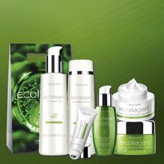 **NEW** Fabulous Ecollagen Skincare Set. Contains 6 products from the range - everything you need for younger looking skin! The complete set costs just €95.45 - that's a saving of €65.60 on the RRP. Order today using code 480698. (Suitable for all skin types, recommended for age 35+)