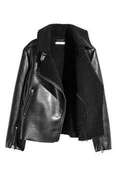 Veste de style motard doublée | H&M
