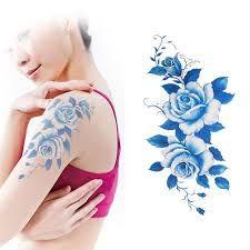 Waterproof Temporary Tattoo Sticker dark red peony flower women's body art tatto stickers flash tatoo fake tattoos for girl 7 Fake Tattoos, Girl Tattoos, Tatto For Men, Peony Flower, Flowers, Blue Peonies, Tattoo Paper, Poker Online, Temporary Tattoo