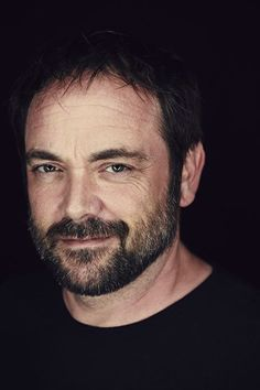 """""""Hello, Boys."""" Mark Sheppard looking devilishly handsome at WBTV's Comic-Con® 2014"""