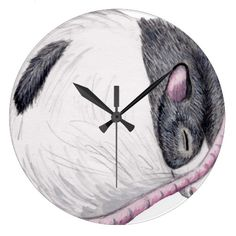 time for ratties wall clock wall clock