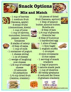healthy snack ideas by josie